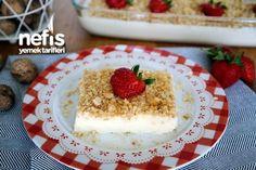 New : Saray Custard Recipe, Best Cake Recipes, Dessert Recipes, Turkish Recipes, Ethnic Recipes, Turkish Sweets, Custard Recipes, Chocolate Cake, Cheesecake, Deserts