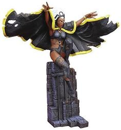 X-Men Dark Phoenix Saga: Storm Statue by Marvel Select. $399.95. A Diamond Select Release! Third in the line of spectacular pieces, the Dark Phoenix Saga Storm Statue presents the African weather goddess as she battles her former friend. Forced to put aside her feelings and strike against the Dark Phoenix, Storm is depicted mid-attack as she calls upon the forces of nature. Part of the ongoing Dark Phoenix Saga series, each piece can be displayed alone or as one massive scen...