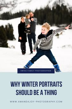 I'm sharing why I think Winter family pics deserve some serious consideration.