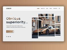 Uber luxury web page concept website graphic desgin web landingpage landing design ui webdesign Ui Ux Design, Graphic Design, Lorem Ipsum Text, Car Prices, Us Cars, Web Design Inspiration, Uber, Design Projects, Concept