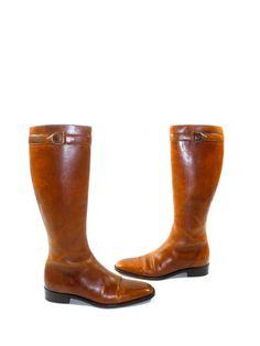 Ralph Lauren Equestrian Dress Boot Made in by PacificWonderland, $250.00