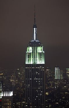 If you go to the top of Rockefeller Centre, you can get a perfect picture of The Empire State Bldg!