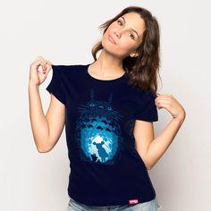 Forest Spirits de Ddjvigo a la venta en Pampling.com, con una tirada limitada y exclusiva. En Pampling  encontrarás las camisetas mas divertidas y originales de la red!  siguenos en facebook.com/pampling
