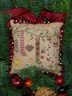 Love this! Shepherds Bush Cross Stitch.  Merry Be.  I want to make this for Christmas.