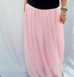 Morning by Morning Productions: Chiffon Maxi Skirt Tutorial