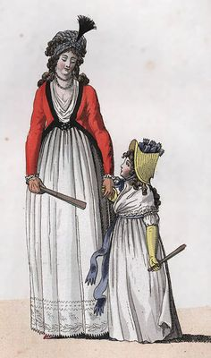 Fashion in Western Europe from 1795-1820?