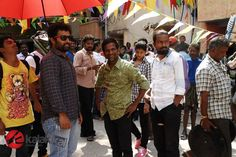 #Aakkam Movie Working Stills  More Stills @ http://kalakkalcinema.com/aakkam-movie-working-stills/
