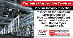 Pipeline Integrity Inspection. No compromise on safety. For further queries : tuvat.asia/get-a-quote or call Pakistan: +92 (42) 111-284-284 | Bangladesh +880 (2) 8836404 | Sri Lanka +94 (11) 2301056 to speak with a representative. #ISO #TUV #certification #inspection #pakistan #iso9001 #bangladesh #srilanka #lahore #karachi #colombo #dhaka #contract #safety #pipeline