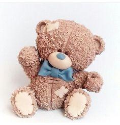 Polymer Clay Dolls, Polymer Clay Flowers, Tatty Teddy, Teddy Bear, Pasta Flexible, Sugar Art, Gum Paste, Clay Creations, Baby Shower Cakes