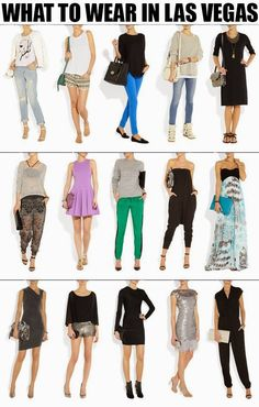 What to wear in Las Vegas- for the vacation in vegas