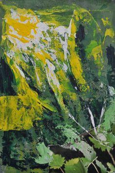 "Espiritualidad Contemporánea:                                                     cada ""don"" ilumina pintura en tela de José Vega poema del libro ""Hagan lo que Él les diga""  de Moni Indiveri de Vega"