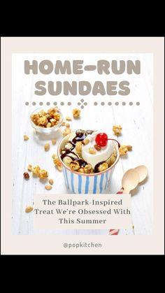 Frozen Desserts, Summer Desserts, No Bake Desserts, Vanilla Ice Cream, Whipped Cream, Sundae Recipes, Chocolate Syrup, Cold Meals, Treat Yourself