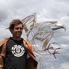 Mark Hill Sculpture Artist launches new website - New Zealand Sculpture Artist