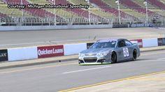 Dale Earnhardt Jr. on Goodyear tire testing at Michigan. #NASCAR2014