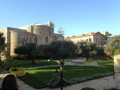 """Iglesia San Juan en #Biblos  #Libano. Conoce mas en nuestro artículo: """"La antigua y Maravillosa Biblos"""" #Lebanon"""