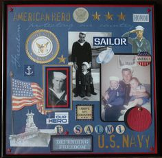 Sailor - My brother in law Frank~  Scrapbook.com