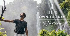 Thrive Own The Day Adventures: Win a 6 day – 5 night eco-adventure in Costa Rica. Including accommodation at one of the top ten adventure lodges in the world by National Geographic Pacuare Lodge