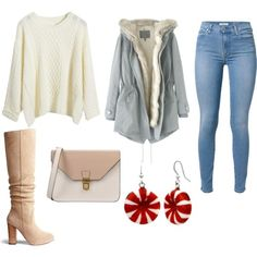 Untitled #892 by emmahhayes on Polyvore featuring polyvore fashion style Wrap 7 For All Mankind 8 Mixit