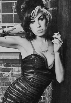 Amy WInehouse. Sorry she's gone--brilliant, but haunted obviously.