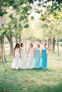 Chic New Donna Morgan Bridesmaids Dresses For Spring 2014 Mix Match Bridesmaids, Blue Bridesmaids, Wedding Bridesmaids, Spring Bridesmaid Dresses, Spring Dresses, Wedding Dresses, Bride Dresses, Bridesmaid Inspiration, Bridal Musings