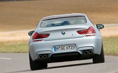 2014 BMW M6 Gran Coupe Front Right Side View Photo 2