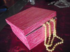 caixa guarda bijuteria