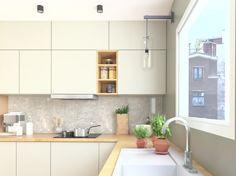 Amenajare bucatarie - Kitchen design Design Projects, Kitchen Cabinets, Interior Design, Table, Furniture, Home Decor, Kitchen Maid Cabinets, Design Interiors, Tables