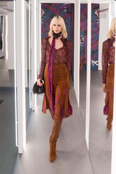 Count Diane Von Furstenberg as another designer opting into the see now, buy now trend. With her fall-winter 2016 presentation, the designer focuses on 1970s inspired looks with a focus on the slip dress. For outerwear, it is all about fur embellishment while separates are loose-fitting with slouchy culottes or midi-length skirts. The accompanying lookbook …