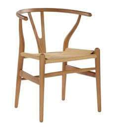 Replica Hans Wegner Wishbone Chair - White Frame (grain not visible) Natural seat - Beech Timber Cool Chairs, Side Chairs, Patchwork Chair, Swivel Rocker Recliner Chair, Best Dining, Swinging Chair, Dining Chair Set, Dining Room, Dining Area