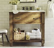 Pottery Barn Bathroom This Would Be Cute For A Small Powder Room