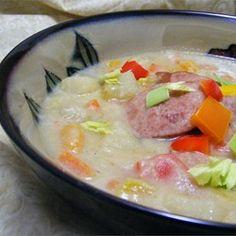 Easy Potato Sausage Soup - Allrecipes.com