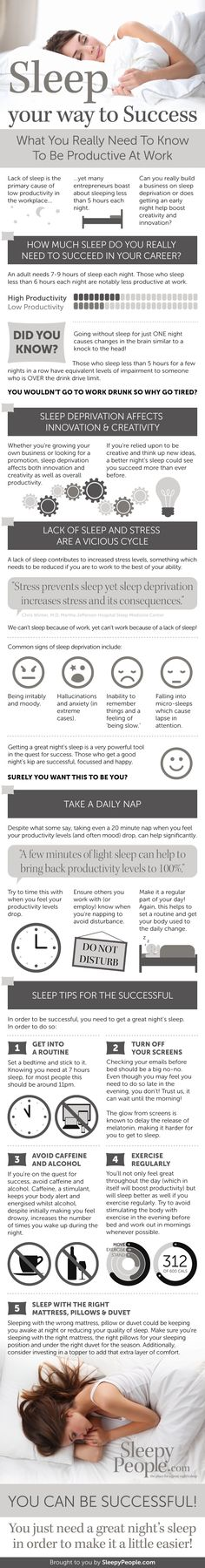Sleep Your Way To Success