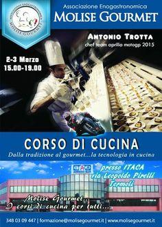 Molise Gourmet presenta un nuovo corso di cucina con lo Chef Antonio Trotta -> http://www.mangiareinmolise.it/site/molise-gourmet-presenta-un-nuovo-corso-di-cucina-con-lo-chef-antonio-trotta/ #Termoli #Molise #mangiareinmolise