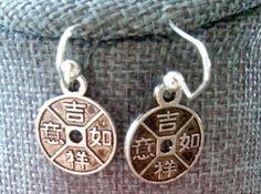 Japanese Inspired Earrings by GabbyBethstreasures on Etsy