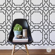 Modern Wall Stencils & DIY Floor Stencils for Painting | Royal Design Studio Stencils