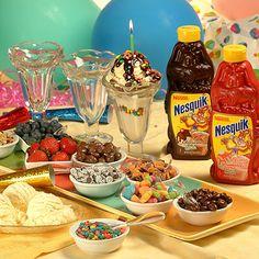Birthday Sundae Bar Recipe | Nestle Meals.com