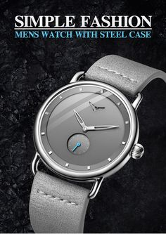 2019 ONOLA top brand leather men watches clock fashion sport simple casual waterproof Wrist watch men relogio masculino-in Quartz Watches from Watches on AliExpress Casual Watches, Watches For Men, Waterproof Watch, Luxury Watches, Simple Style, Brand Names, Leather Men, Clock, Mens Fashion