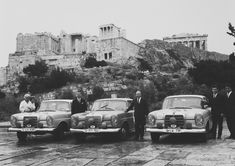 Mercedes-Benz  at the 11th Acropolis Rally, in May of 1963.