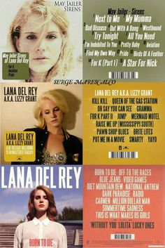 Lana Del Rey early discography