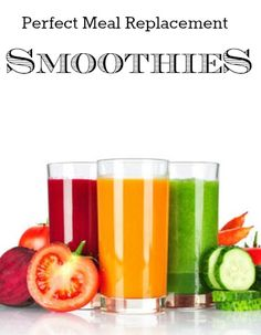 Perfect Meal Replacement Smoothies in under 90 seconds!