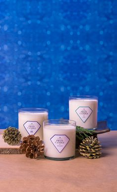 Natural Soy Candle with a Ring Hidden Inside   Prize Candle