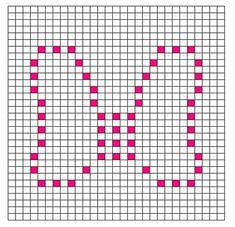 Ravelry: Bow Bobble Chart pattern by Kari Philpott