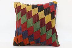 16x16 Sofa pillow Cushion Cover throw pillow home decor geometric ...