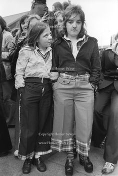 """Bay City Rollers pop group boy band girl teen fans Newcastle UK 1970s.    HOMER SYKES    homersykes.photoshelter.com/    KEYWORD """" bay city rollers """"     I really loved the Bay City Rollers. Please check out my website Thanks  www.photopix.co.nz"""