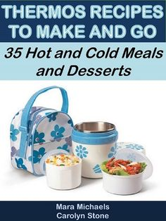 Back to school is here! Time to feed the kids cheaply and easily again. What to send to school with them for lunch can be a real hassle. Why not try: Thermos Recipes to Make and Go: 35 Hot and Cold Meals and Desserts