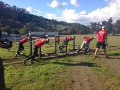 Crossfit Diablo's big bob challenge at the ranch aromas