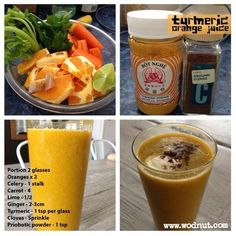 Breakfast juice to kickstart the day. Inspired by @peteevanschef sunrise appearance. I'll give this a 9/10. The cloves gives it a extra kick. #paleo #wodnut #juice #detox