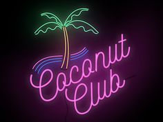 Coconut Club | Fonts Inspirations | The Design Inspiration