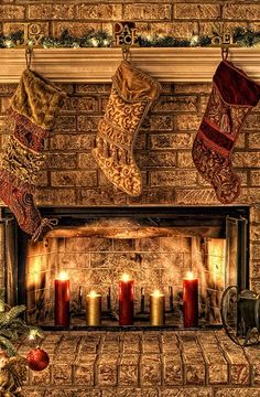 Christmas Decorating Fireplace Ideas, Decorating Fireplace Mantels