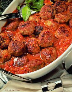 Görög húsgombócok – Receptletöltés Food And Drink, Pork, Foods, Meat, Simple, Ethnic Recipes, Kale Stir Fry, Food Food, Food Items